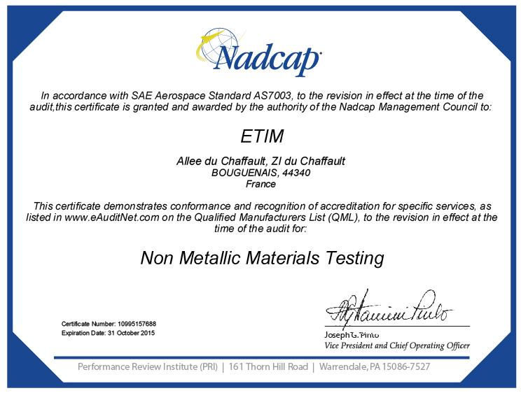 national aerospace standard